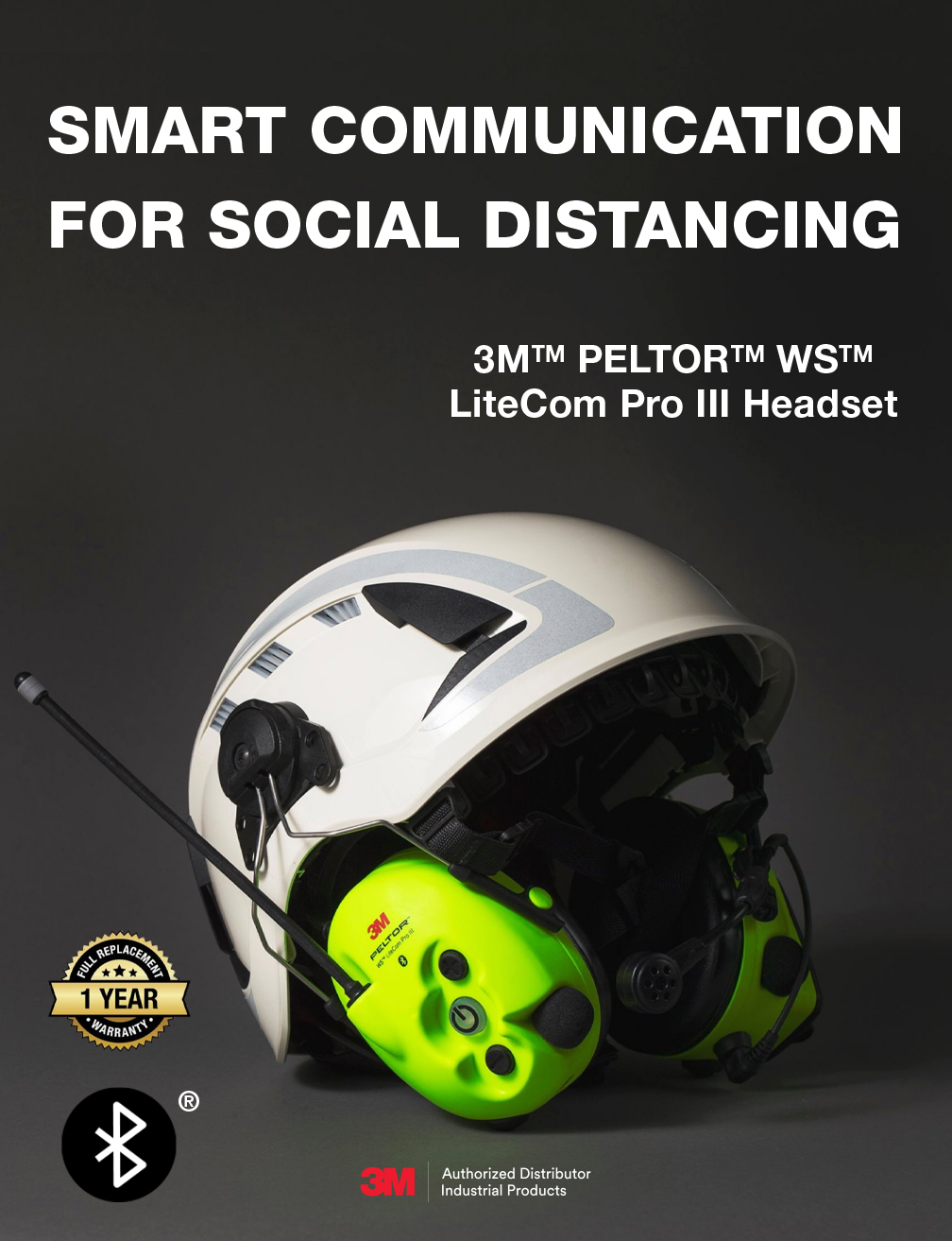 Smart Communication for Social Distancing