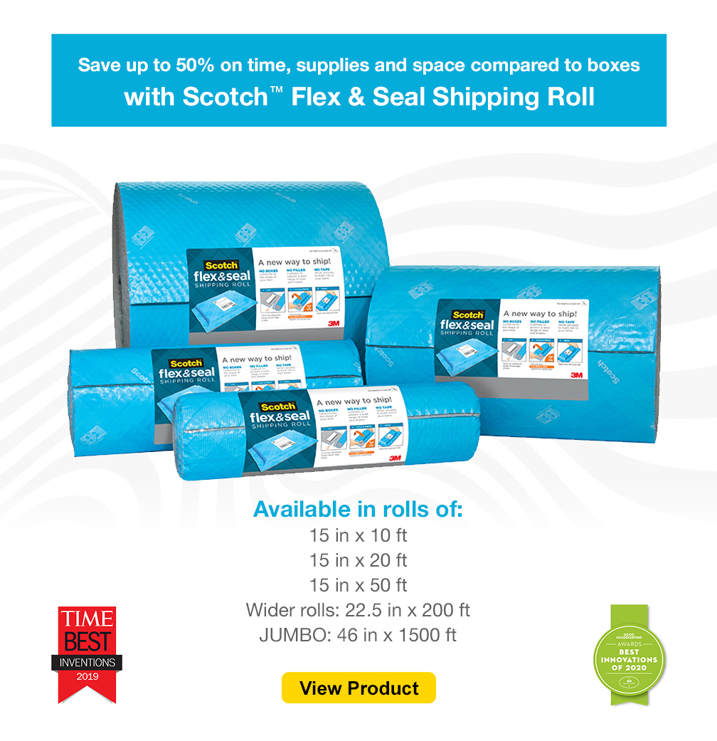 3M™ Scotch™ Flex & Seal Shipping Roll