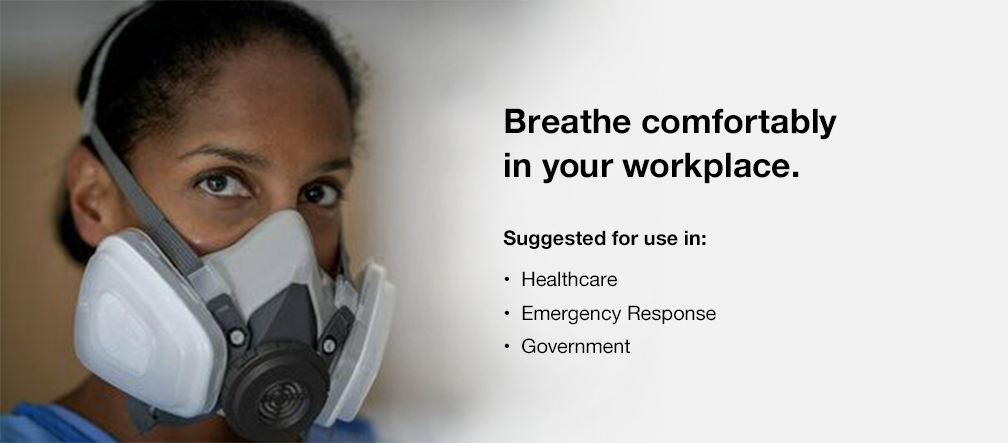 Breathe comfortably in your workplace.