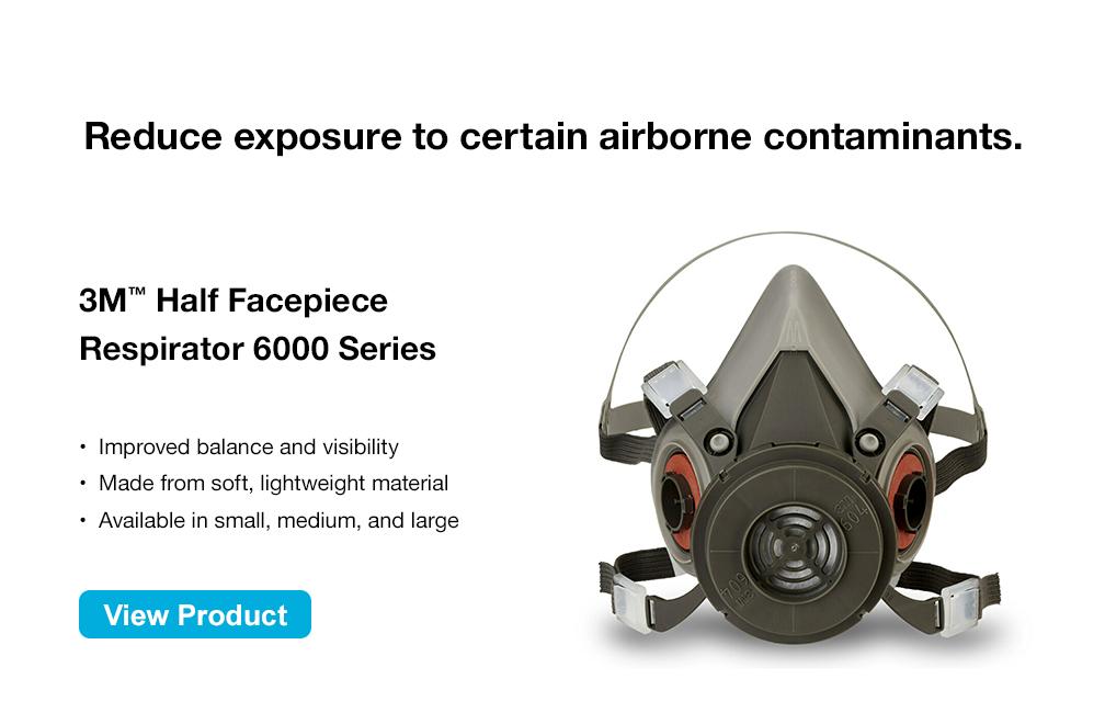 3M™ Half Facepiece Respirator 6000 Series