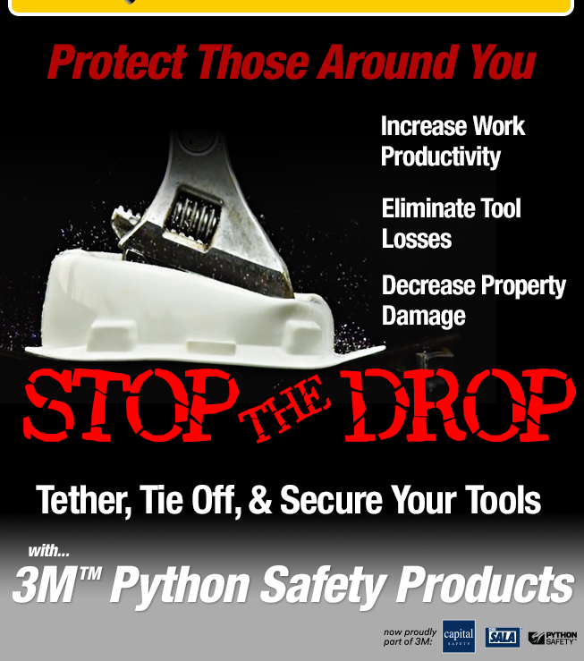 3M Python Fall Protection For Tools