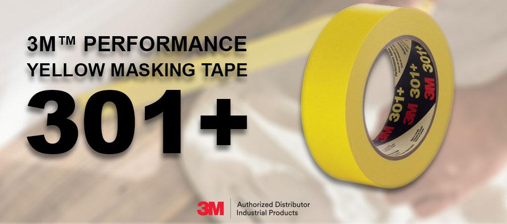 3M Performance Yellow Masking Tape 301+