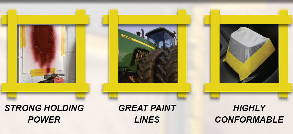 Strong Holding Power - Great Paint Lines - Highly Conformable