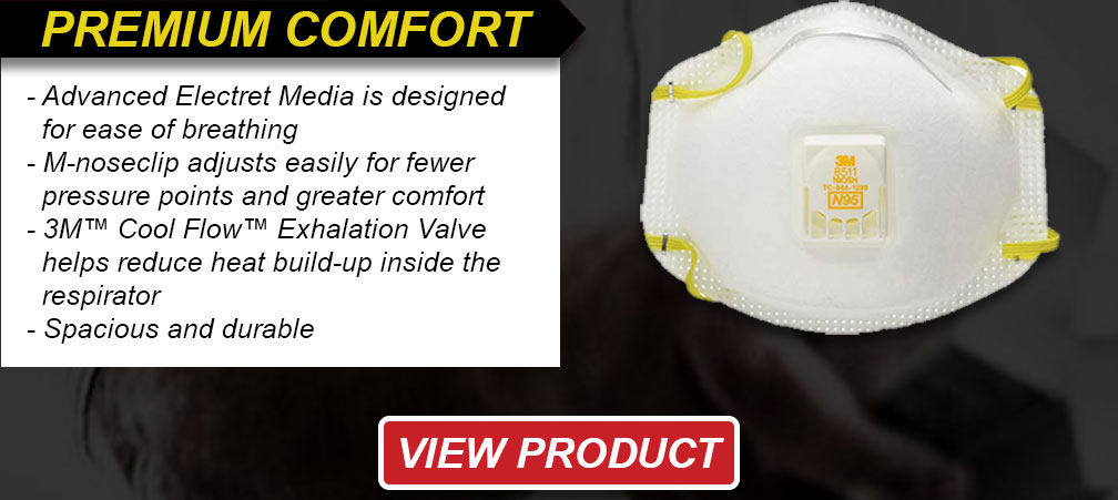 Premium comfort 8511 respirators
