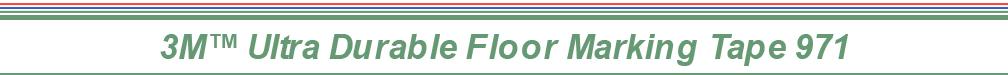 3M™ Ultra Durable Floor Marking Tape 971