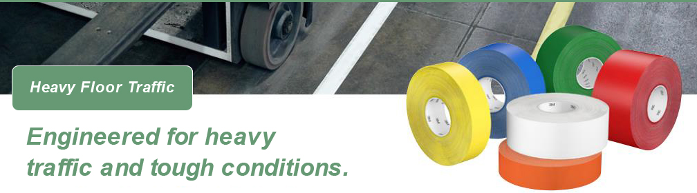 Heavy Floor Traffic - Engineered for heavy traffic and tough conditions.