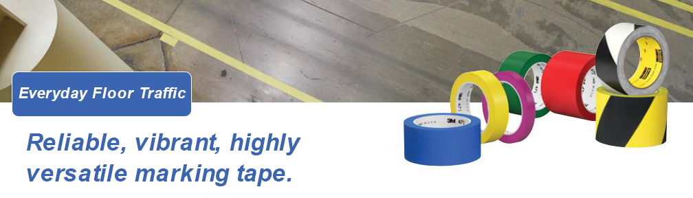Reliable, vibrant, highly versatile everyday floor marking tape