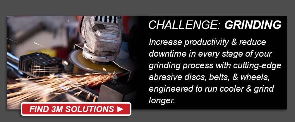 3M Metalworking Grinding Challenge - Find 3M Solutions