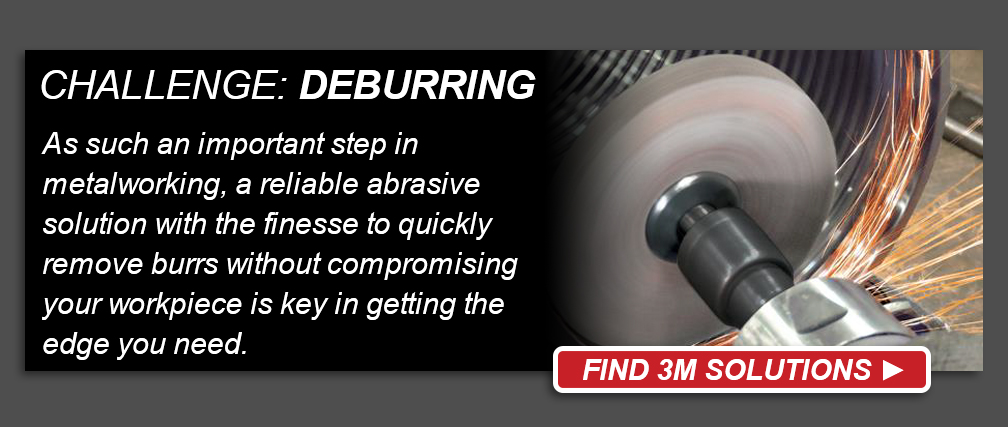 3M Metalworking Deburring Challenge - Find 3M Solutions