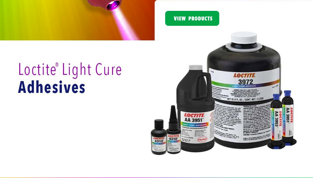 Loctite Light Cure Adhesives
