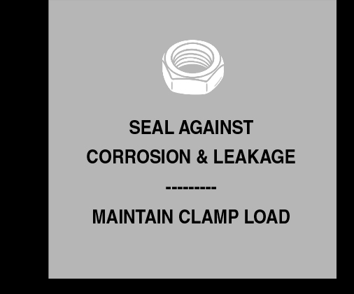 Threadlockers - Seal against corrosion and leakage