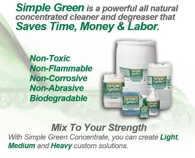 R S Hughes Presents Simple Green